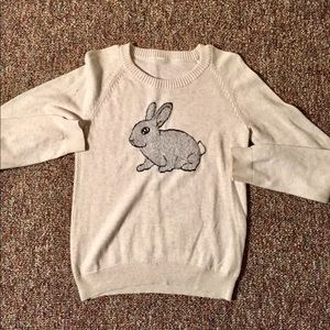 ANTHRO RABBIT SWEATER🚨SALE ENDS SOON🚨